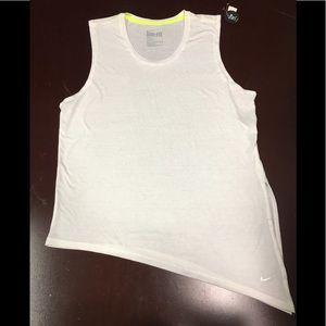 Nike women's drifit Muscle T-shirt